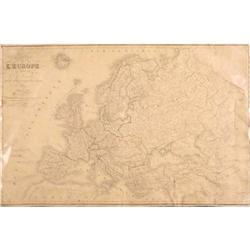 Carte de L'Europe par a Lorrain #2359938