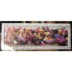 framed photo poster puppies Belda #2359944