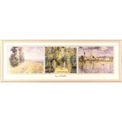 Vetheuil In Summer Money impressionist print #2359956