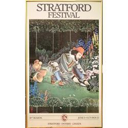 Rare Stratford Shakespeare Poster 1983 #2359957
