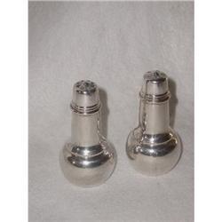 Silver Plated Salt Pepper C.1920 #2359958