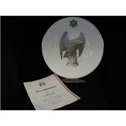 """Honor America"" Boehm ltd. ed. plate #2359961"