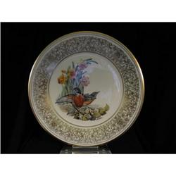 """Robin"" limited edition bird plate by Edward #2359967"