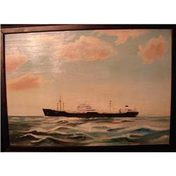 OIL ON BOARD OF STEAMSHIP TANKER,BALTIMORE #2359971
