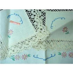 LOVELY ENGLISH  EMBROIDERY 3 PIECE SET #2359992
