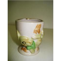 LOVELY FIGURAL EGG CUP - TINY BUNNY&BUMBLEBEE #2359998