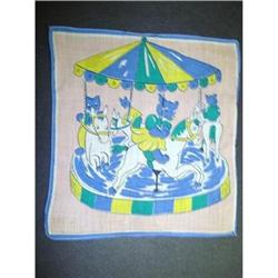 CHILDS HANKY-BEARS on MERRY-GO-AROUND #2360006
