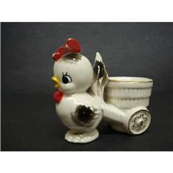ADORABLE FIGURAL EGG CUP - BOY CHICK #2360013