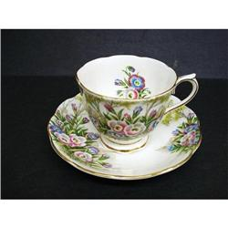 CHARMING ROYAL ALBERT CUP&SAUCER - FLORAL  #2360027