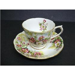 PRETTY  ROYAL ALBERT CUP&SAUCER - FLORAL  #2360028