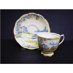 ROYAL ALBERT CUP&SAUCER - ROSEDALE #2360030