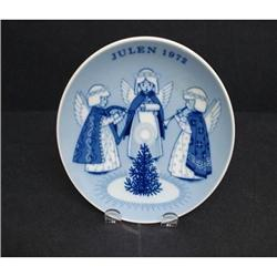 1972 PORSGRUND-NORWAY CHRISTMAS PLATE #2360033