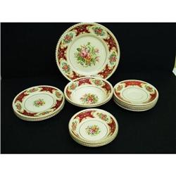 PRETTY SIMPSONS POTTERIES DISHES 15 Pieces #2360037