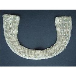 Vintage BEADED Bead COLLAR Necklace #2360038