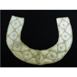 Lovely  BEADED Bead COLLAR Necklace #2 #2360039