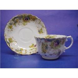 Antique Fine China Cup & Saucer #2360041