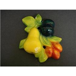 PRETTY VINTAGE WALL PLAQUE - FRUITS #2360047