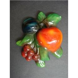 PRETTY VINTAGE WALL PLAQUE - FRUITS #2 #2360048