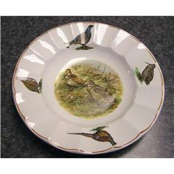 Royal Staffordshire Bowl with Game Birds #2360056