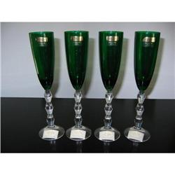 Set of 4 Lenox Goblets from Austria!  #2360065