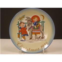 Schmid 1976 Hummel Christmas  Plate #2360094