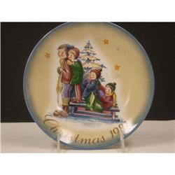 Schmid 1981 Hummel Christmas  Plate #2360096