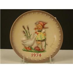 Goebel 1974 Hummel Annual Plate #2360099