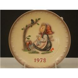 Goebel 1978 Hummel Annual Plate #2360103