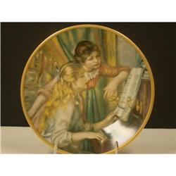 Pickard Children of Renoir At the Piano Plate #2360113