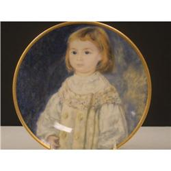 Pickard Children of Renoir Child in White Plate#2360115