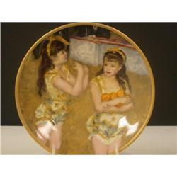 Pickard Children of Renoir Two Little Circus #2360116