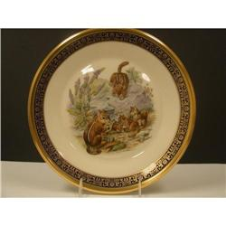Lenox Boehm Eastern Chipmunks Plate #2360122