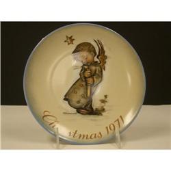 Schmid 1971 Hummel Christmas Plate #2360123