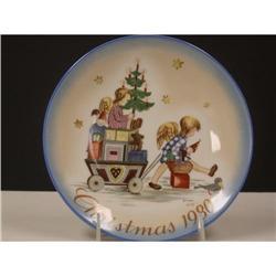 Schmid 1980 Hummel Christmas Plate #2360124