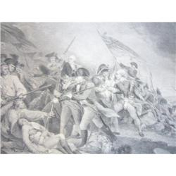 1888 Lithograph/The Battle of Bunker Hill #2360139