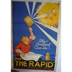 Vintage French Poster - circa 1930s - The Rapid#2360205