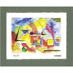 "Kandinsky Wasily  ""Portrait"" - color lithograph#2360208"
