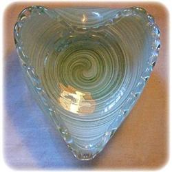 Victorian Venetian Lattaccino Glass Triangle #2360211