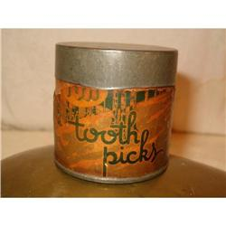 IGA  toothpick  antique  holder #2360213