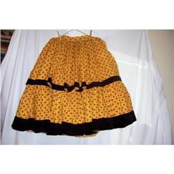 Vintage Western Santa Fe Style Skirt #2360227