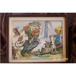 1975 Kassa Print Lumberjack Trolls #2360234