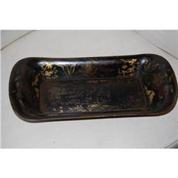 Antique French Tole Bread Tray, c. 1880 #2379612