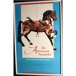 American Sampler Ken Burris carousel horse #2379623
