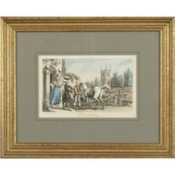 "?Doctor Syntax"" Rowlandson etching #2379626"