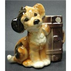 ROYAL COPLEY PLANTER*DARLING PUPPY*SKIP #2379657