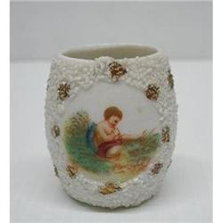 VICTORIAN TOOTHPICK HOLDER - CHERUB #2379662