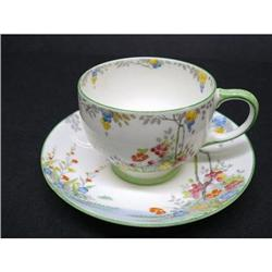 HEIRLOOM HAND PNTD. PARAGON CUP&SAUCER #2379664