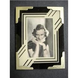 ART DECO REVERSE PAINTED FRAME #20 #2379670