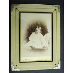 ORIGINAL REVERSE PAINTED ART DECO  FRAME #22 #2379672