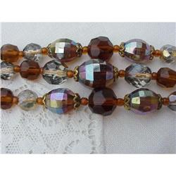 Faceted IRIDESCENT BEADS BRACELET #2379694